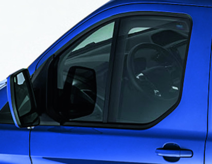 ClimAir®* Wind Deflectors for front door windows, transparent