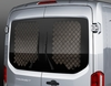 Rear Window Protection Grille for cargo doors