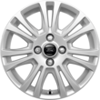 "Alloy Wheel 40,64 cm (16"") 7-spoke design, sparkle silver"
