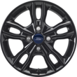"Alloy Wheel 16"" 5 x 2-spoke design, Panther Black"
