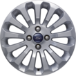 "Alloy Wheel 38.10 cm (15"") 13-spoke design, silver"