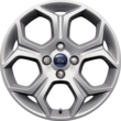 "Alloy Wheel 43.18 cm (17"") 5-spoke Y design, silver"