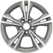 "Alloy Wheel 40.64 cm (16"") 5 x 2-spoke design, arctic grey machined"
